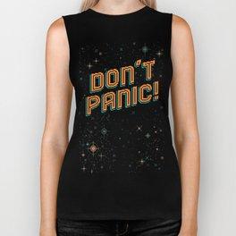 Don't Panic! Pixel Art Biker Tank