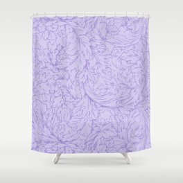 "William Morris ""Acanthus Scroll"" 8. Shower Curtain"