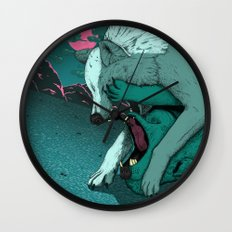Ballad of the Wolf Wall Clock