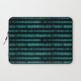 Blue Dna Data Code Laptop Sleeve