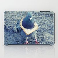 hiphop iPad Cases featuring HipHop Dove Walk by Sigurdfisk