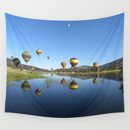 Bear Valley Reflection 2 Wall Tapestry