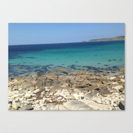 blue oceans Canvas Print