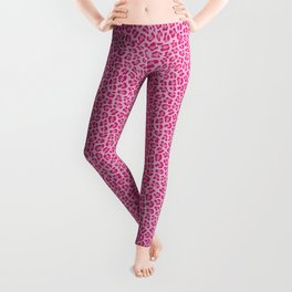 Leopard - Lilac and Pink Leggings