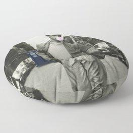 Time Traveler & Bubble Gum Floor Pillow