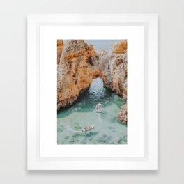 boat life iii / lagos, portugal Framed Art Print