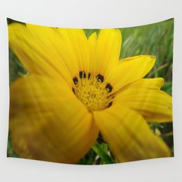 yellow feeling Wall Tapestry