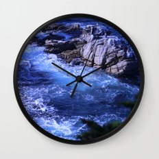landscape with ocean Wall Clock