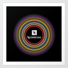 Nespresso icon Art Print