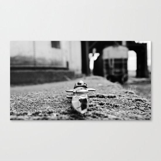 Industrial stiletto Canvas Print