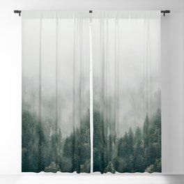 Foggy Forest 3 Blackout Curtain