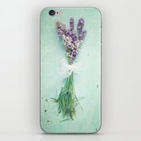 lavender iPhone & iPod Skins featuring lavender by Sylvia Cook Photography