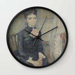 Portrait of Léonie Rose Charbuy-Davy Wall Clock