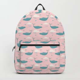 Narwhal pink Backpack