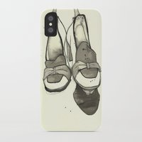 shoes iPhone & iPod Cases featuring Shoes by Zoe Jackson