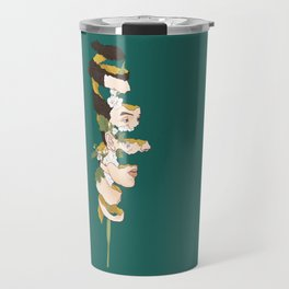 Gladiolus Travel Mug
