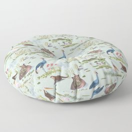 African Lake Floor Pillow