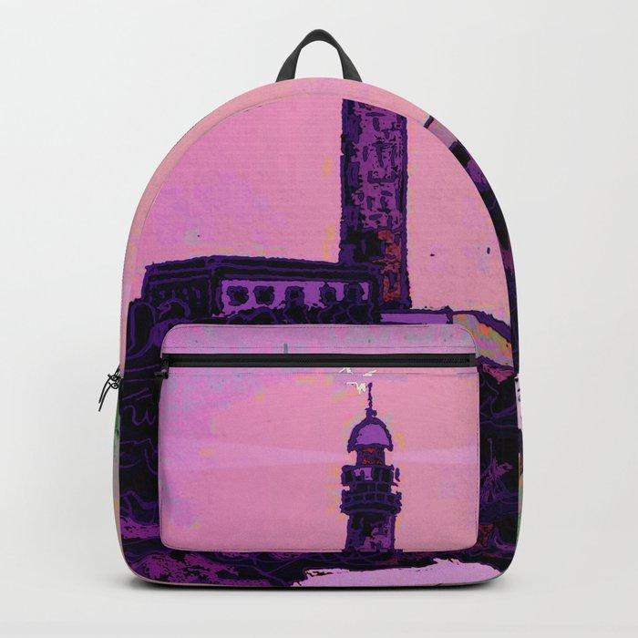 Golden Hours / Lighthouse Barlovento La Palma Backpack