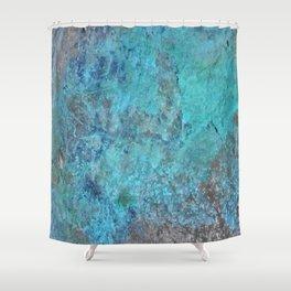 Patina Cast Iron rustic decor Shower Curtain