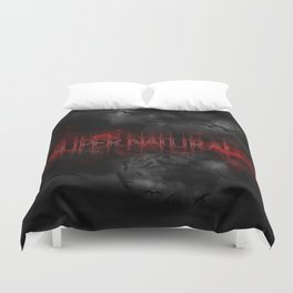 Supernatural darkness Duvet Cover