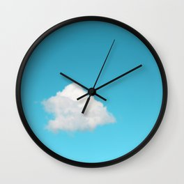 Happy Cloud Wall Clock