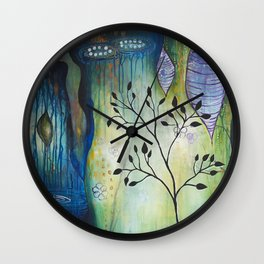 Reflection of Beginnings Wall Clock