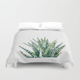 Zebra Cactus Duvet Cover