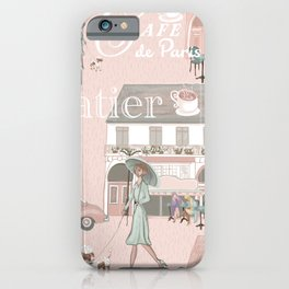 La France Cafe for Coffee! iPhone Case