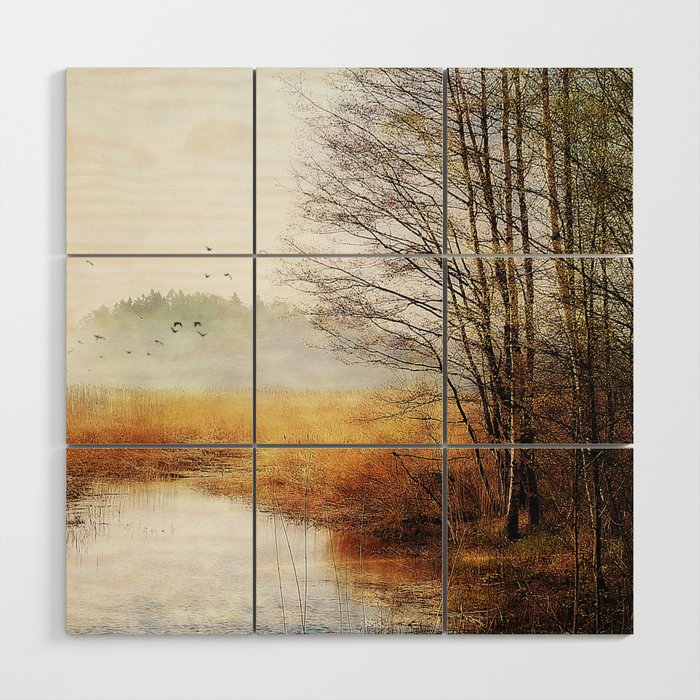 Spring is here Wood Wall Art