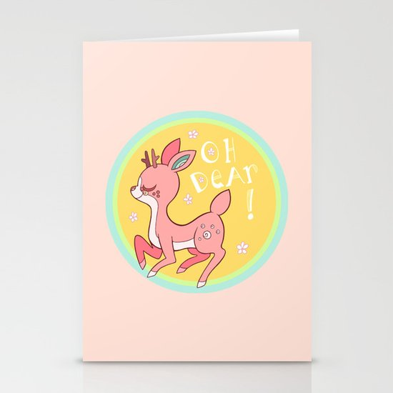 Oh DEAR! Stationery Cards