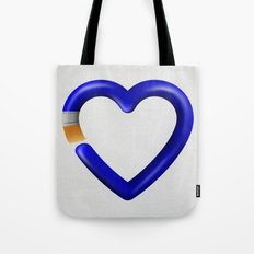 Love to paint Tote Bag