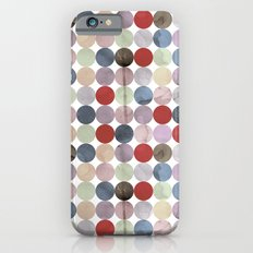 Winter Polka Dots iPhone 6s Slim Case