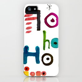 ALLSORTS HOHOHO by C'EST LA VIV iPhone Case