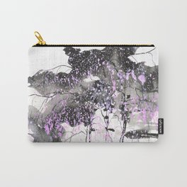 Sumie No.6 weeping willow cherry blossoms Carry-All Pouch