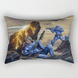 Skirmishers Rectangular Pillow
