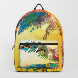Palm in the Sun Backpack