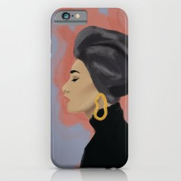 Girl with the golden earring iPhone Case