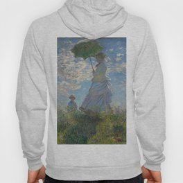Woman with a Parasol, Monet Hoody
