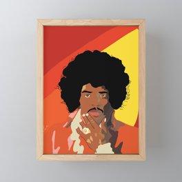 Jimi Hendrix Framed Mini Art Print