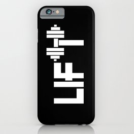 Lift iPhone Case