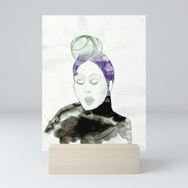 Pureen - Vintage 50s Hairdo Mini Art Print