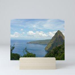 Petit Piton Saint Lucia Mini Art Print