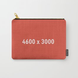 3000x2400 Placeholder Image Artwork (Google Plus Red) Carry-All Pouch