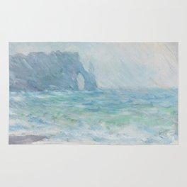 Monet Regnvær, Etretat, 1886 Rug