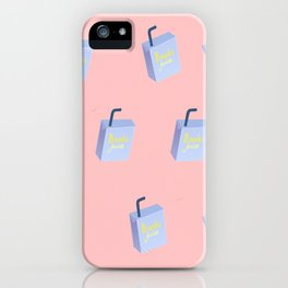 juice patter iPhone Case