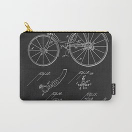 Bicycle 1889 Patent Cycling Carry-All Pouch