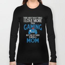 Gamer Mom Loves Parenting Long Sleeve T-shirt