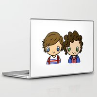 larry stylinson Laptop & iPad Skins featuring What Makes Larry Beautiful by clevernessofyou