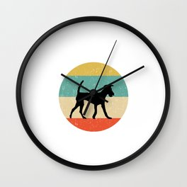Irish Terrier Dog Gift design Wall Clock