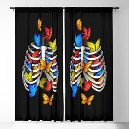 Butterflies in my stomach Blackout Curtain